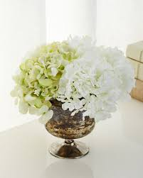 Faux Floral Centerpieces by John Richard Collection Garden Reflections Faux Floral Arrangement