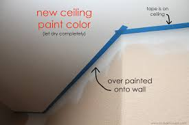 Preparation For Painting Interior Walls Painters Secret 2 Methods For Perfect Lines When Cutting In On