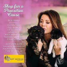 Overstock Com Pets Shop For A Cause Adoptashelter Com U0026 Vanderpump Pets Partner For