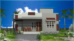 900 sq ft single floor home house elevation indian single