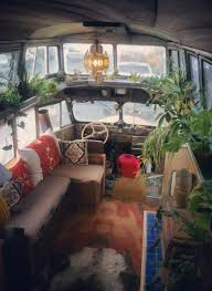 how to shoo car interior at home 9 awesome vintage buses converted into beautiful mobile homes