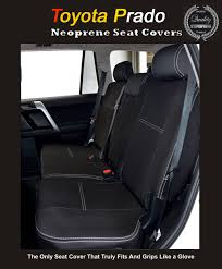 Car Seat Covers Melbourne Cheap Seat Covers Rear Suitable For Toyota Prado 90 120 150 Series