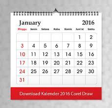 desain kalender meja keren download kalender 2016 file vector gratis pusat percetakan