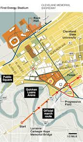 Cleveland State University Map A Look At Security At The Republican National Convention The