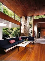Best Mid Century Modern Interiors Images On Pinterest - Vintage modern interior design