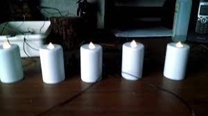 diy homemade electric flameless candles candelabra style youtube