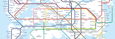 Santiago Metro Map by Global Subway Map Shows The Potential Of A Hyperloop Connected