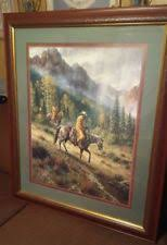 Home Interior Cowboy Pictures Home Interiors Picture Cowboy Ebay