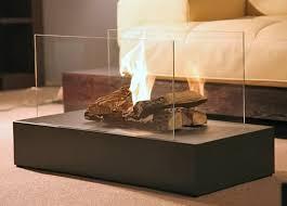 Portable Indoor Outdoor Fireplace by Modern Fire Space Freestanding Floor Indoor Ethanol Burning Bio