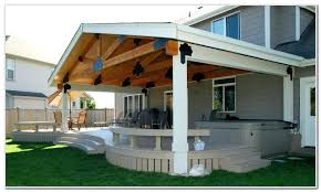 covered porch plans covered decks half covered deck best covered decks ideas on deck