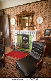 the livingroom glasgow living room tenement house glasgow stock photo royalty free image