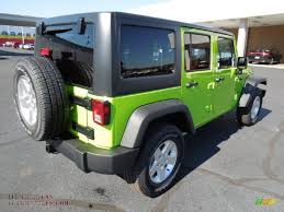 gecko green jeep 2013 jeep wrangler unlimited sport s 4x4 in gecko green pearl