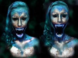 Halloween Makeup Mermaid Scary Mermaid By Emily Anderson Fx Make Up Pinterest Scary