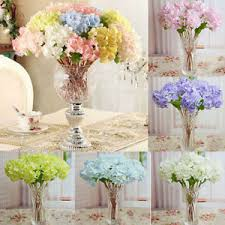 fleur artificielle mariage bouquet hortensia fleur artificielle plante décoration mariage