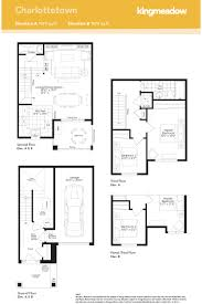minto homes floor plans kingmeadow charlottetown townhome oshawa new homes minto