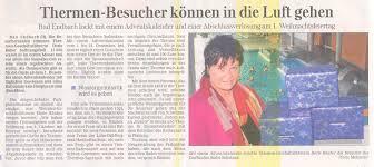 Bad Endbach Therme Lahn Dill Bergland Therme Presseberichte