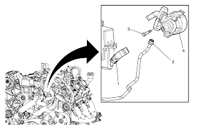 repair instructions power steering pump replacement ls4 2008