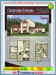 grande estate rochester modular home two story plan price