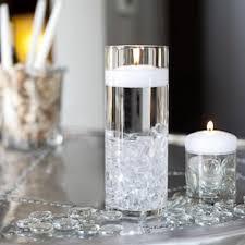 Cylinder Floating Candle Vase Set Of 3 Shop Cylinder Holders Floating Candle Holders Candle Holders