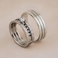 verighete cu diamant zehava verighete și inel logodnă malka din aur alb 18k cu diamante