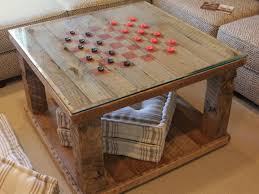 reclaimed wood game table how to build a rustic checkerboard table how tos diy