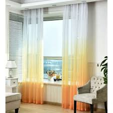 Threshold Ombre Curtains by Yellow Sheer Curtains Yellow Sheer Curtains Loading Zoom