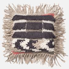 Loloi Pillows Dhurrie Style Pillow Cotton Carpet Made In India Usually Fringed At The Ends Carpet