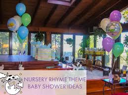 Nursery Rhymes Decorations Nursery Rhyme Baby Shower The Sendo