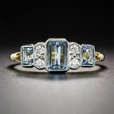 antique aquamarine engagement rings compare prices on vintage aquamarine engagement ring