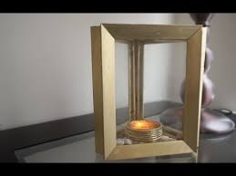Picture Frame Centerpieces by Turn Old Photo Frames Into Centerpieces Diy Candle Holder Youtube
