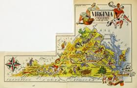 Map Of Virginia Beach Virginia Pictorial Map 1946