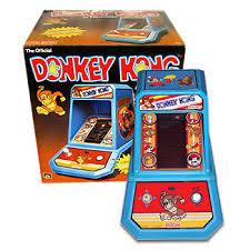 Table Top Arcade Games Donkey Kong Coleco Tabletop Arcade Geek Vintage