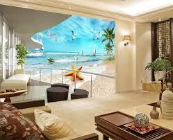 online get cheap bathroom wall murals aliexpress com alibaba group custom 3d wallpaper balcony sea view decoration painting photo wall murals wallpaper bathroom 3d wallpaper