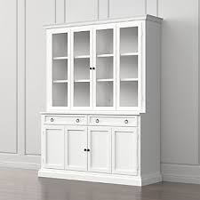 White Glass Cabinet Doors Storage Cabinets And Display Cabinets Crate And Barrel