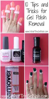 gel polish removal tips and tricks