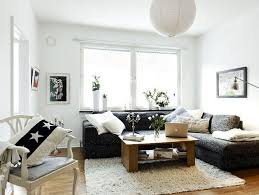 how to decorate a small living room apartment with fabric sofa in