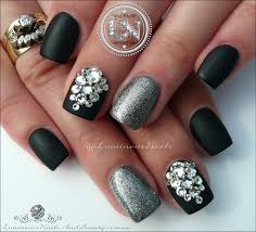 pictures of nail designs with rhinestones choice image nail art