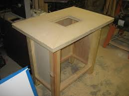 Free Diy Router Table Plans by Router Table Question Woodworking Talk Woodworkers Forum