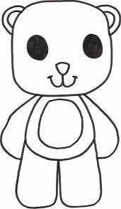 teddy bear coloring sheet