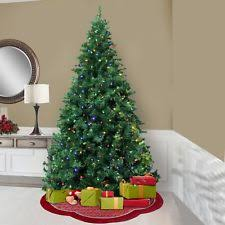 artificial christmas trees multi colored lights northlight 14 ft pre lit crystal white artificial christmas tree