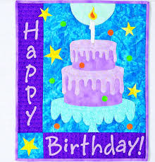 happy birthday cake quilt from c u0026t publishing favecrafts com