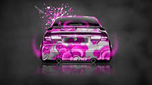 pink subaru subaru legacy b4 jdm back domo kun toy car 2014 el tony