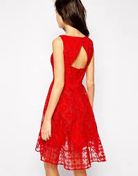 karen millen karen millen embroidered party dress
