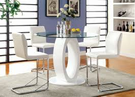 triangle counter height dining table triangular glass top counter height dining table glass designs