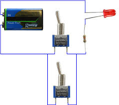doc tinkerforge example schematic with battery two switches and