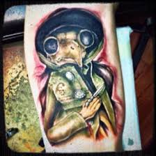 doll tattoo plague doctor tattoo beth robinson u0027s strange dolls