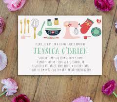 kitchen themed bridal shower ideas bridal shower invitations kitchen theme stephenanuno com