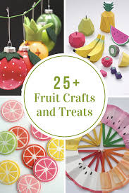fruit treats fruit crafts and treats the idea room