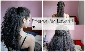 Schnelle Frisuren F Lange Haare Mit Pony by Schnelle Einfache Frisuren Für Locken
