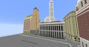 New York City Map For Minecraft by U003dthe Babylon Project U003d New York City 1936 Minecraft Project